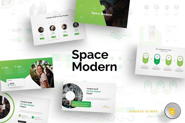 Space Modern - Google Slides Templa…