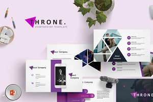 Throne - Powerpoint Template