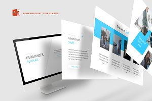 Geomancer - Powerpoint Template