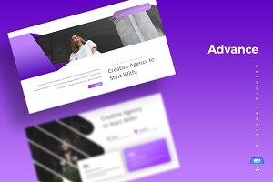 Advance - Keynote Template