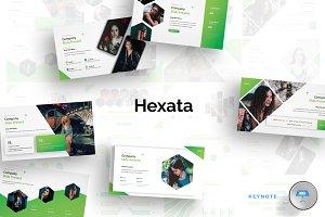 Hexata - Keynote Template