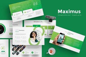 Maximus - Powerpoint Template