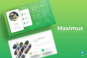 Maximus - Keynote Template