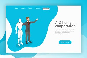 AI and human cooperation