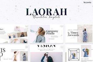 Laorah - Keynote Template