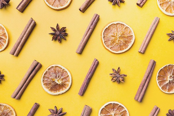 Food Stock Photos - Mulled wine ingredients