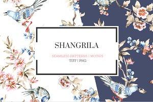 Shangrila, Hand painted watercolors!