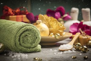 Christmas SPA composition