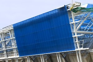 stadium roof  maintenance
