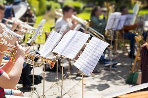 orchestra classical music concert