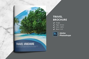 Travel Agency Brochure V835