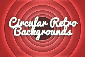 10 Circular Retro Backgrounds