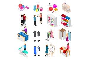 Atelier Studio Concept Set 3d