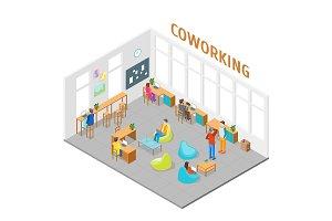 Coworking Center Interior