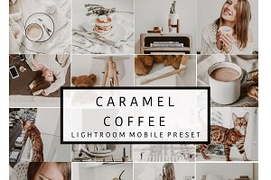 Mobile Lightroom Presets CARAMEL