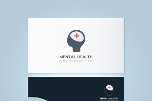 Mental health psychiatrist name card