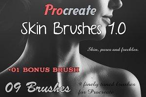 Procreate Skin Brushes