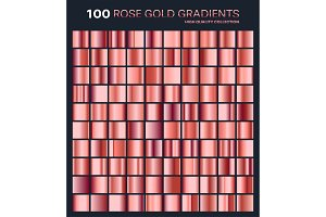 Rose gold gradient,pattern,template
