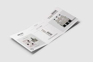Tri-Fold Brochure Mock-up 2