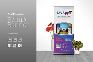 Apps Promotion Rollup Banner
