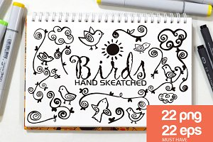 Birds ClipArt - Vector & PNG