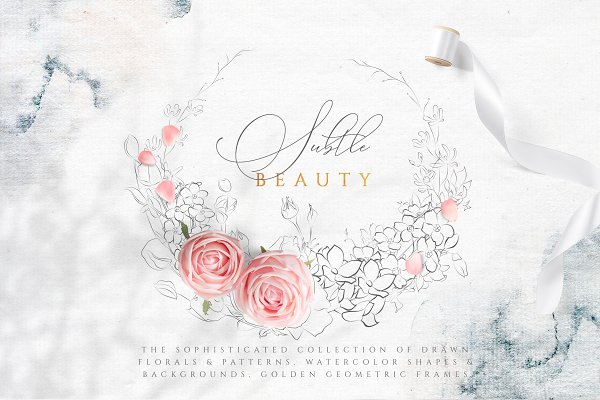 Subtle Beauty Graphic Collection