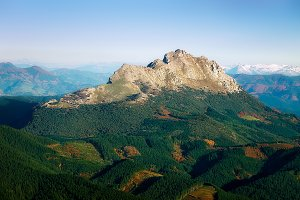 Udalaitz mountain in Basque Country