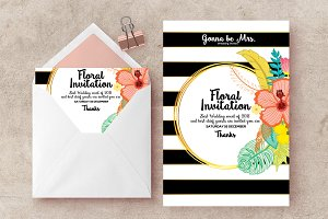 Wedding Invite Psd Flyer Templates