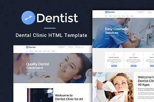 Dentist Dental Clinic HTML Template