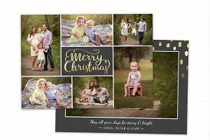 Christmas Card Template CC235