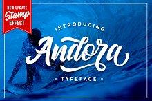 Andora Typeface