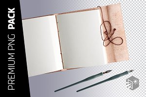 3 BOOK AND PEN PNG IMAGES