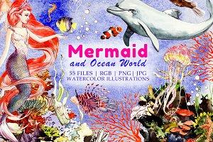 Mermaid and Ocean World