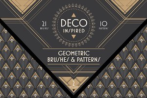 Deco Brushes & Patterns - Vol. 2
