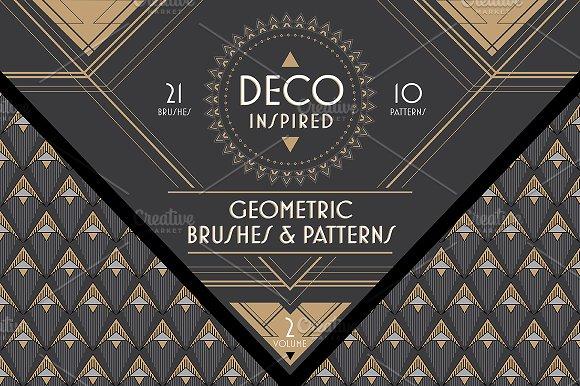 Deco Brushes & Patterns - Vol. 2 - Patterns
