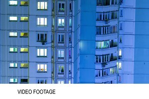 Timelapse of multistorey building