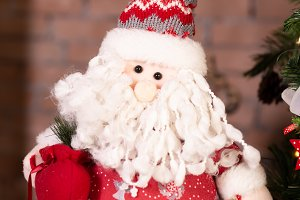 Santa Claus toy, Christmas and New