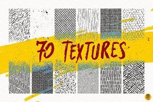 70 Handmade Textures