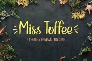 Miss Toffee Handwritten Font