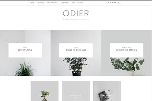 Odier - A Blog & Shop Theme