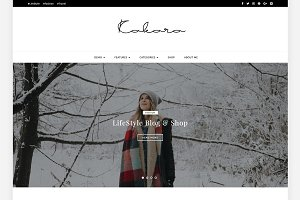 Kokoro - A Blog & Shop Theme