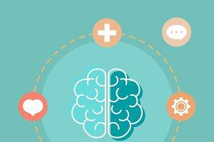 Mental health understanding brain