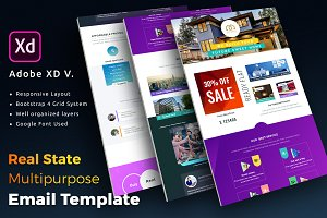 Real State Email Newsletter Template
