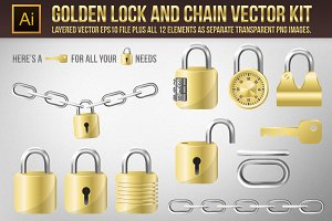 Vector Locks and Chain elements kit