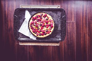 Almond Cream and Berry Tart