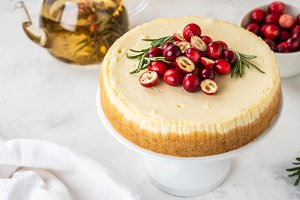 Classic New York Cheesecake with