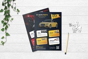 Auto Parts Flyer