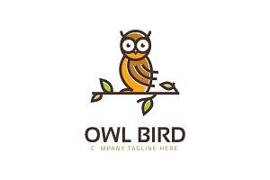 Owl Logo Logo Template