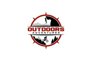 Outdoor Sport Adventure Logo