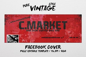 PURE VINTAGE - facebook cover